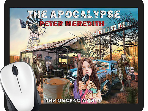 Jillybean in The Apocalypse Mouse Pad