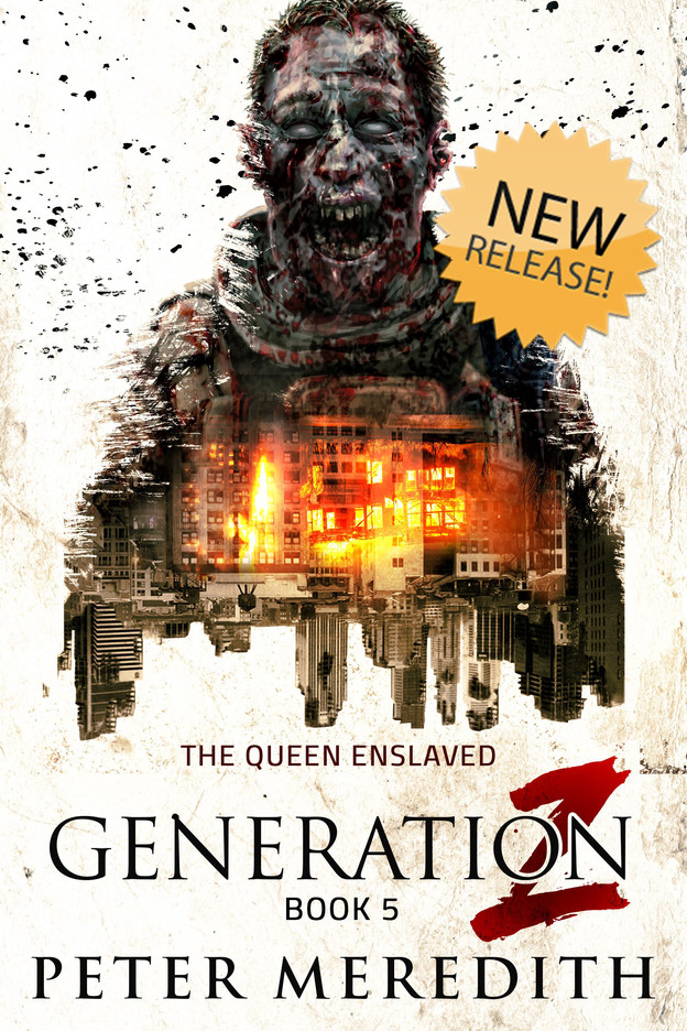 NEW RELEASE: GENERATION Z: The Queen Enslaved, Book 5