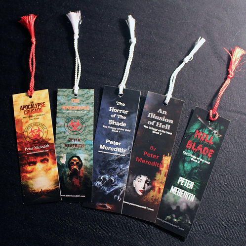Peter Meredith Bookmark Collection: Set of 5