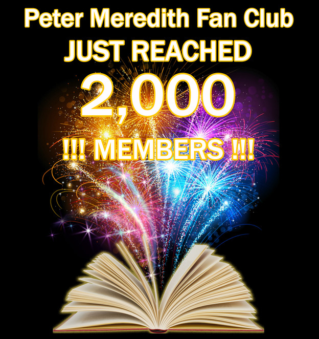 My Facebook Fan Club Hit 2,000 Members!