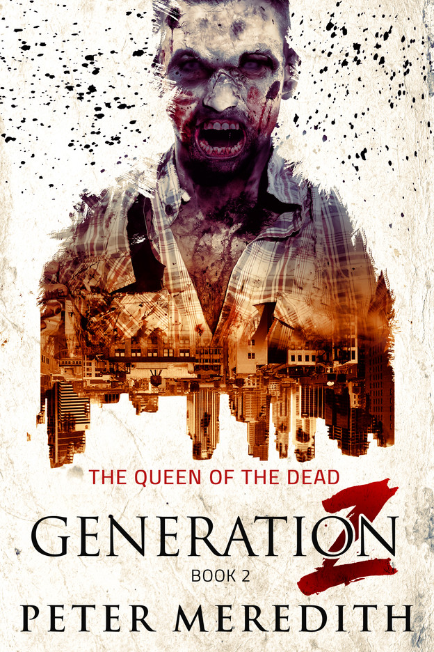 NOW AVAILABLE IN KINDLE!  GENERATION Z: Queen of The Dead, Book 2
