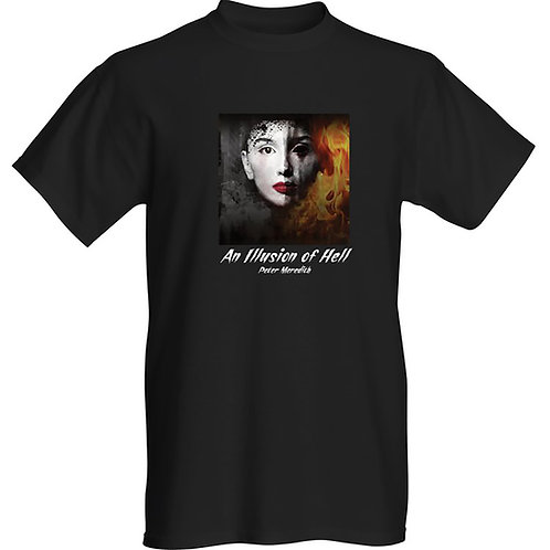 An Illusion of Hell Men's T-Shirt: Black
