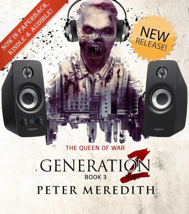 NEW RELEASE: Generation Z, Book 3 in Audible!