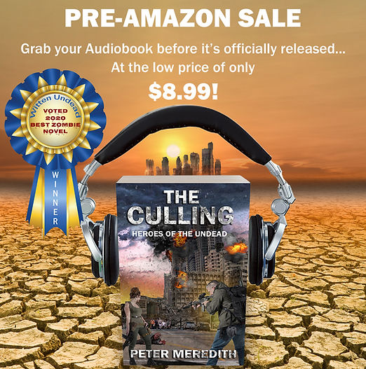 Amazon Audiobook Pre-Sale-The Culling: Heroes of The Undead, Book 1