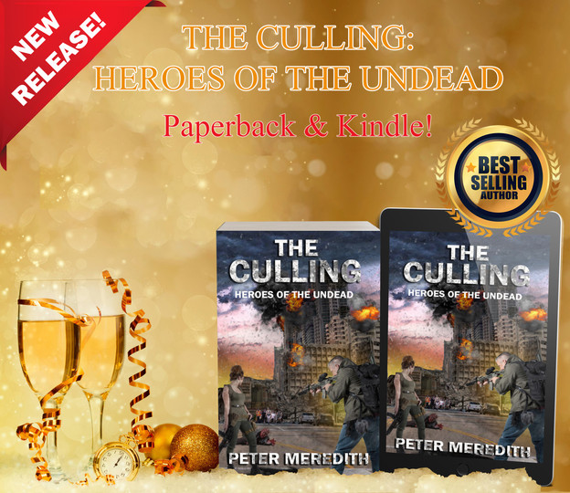 PAPERBACK & KINDLE: The Culling: Heroes of The Undead, Book 1
