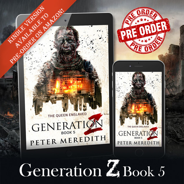 Generation Z, The Queen Enslaved: Book 5 Now Available for Pre-order!!