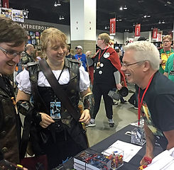 Author Peter Meredith: Denver Comic Con
