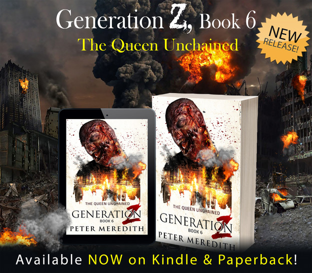 NOW AVAILABLE FOR PRE-SALE! IT'S HERE...IT'S HERE!!               Generation Z, Book 6: The