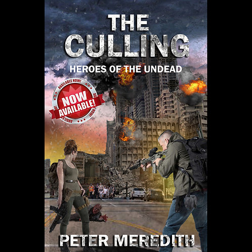 Autographed-The Culling: Heroes of The Undead, Novel 1