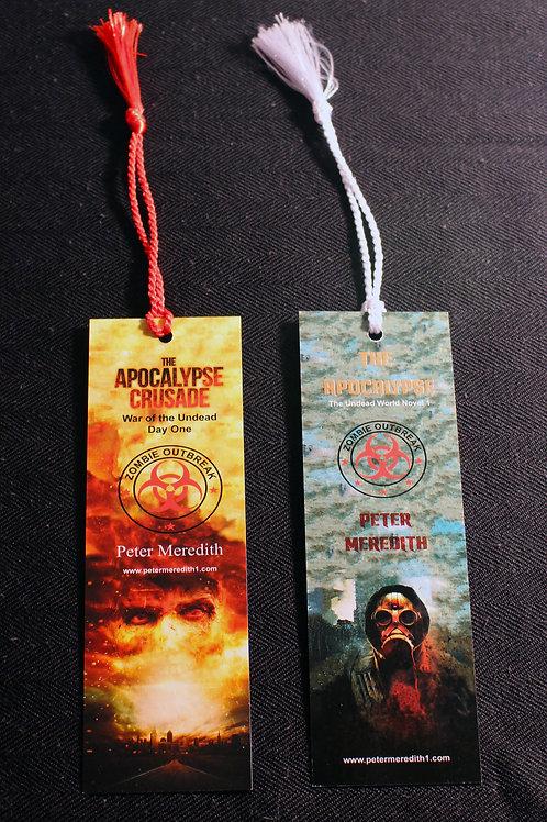 Apocalypse Fan Bookmarks: Set of 2
