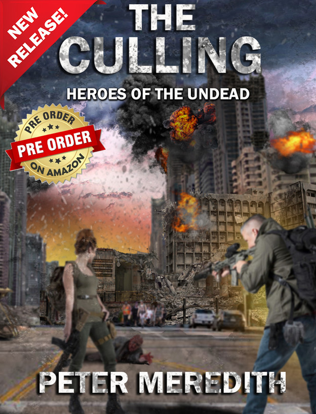 PRE-ORDER The Culling: Heroes of The Undead, Book 1