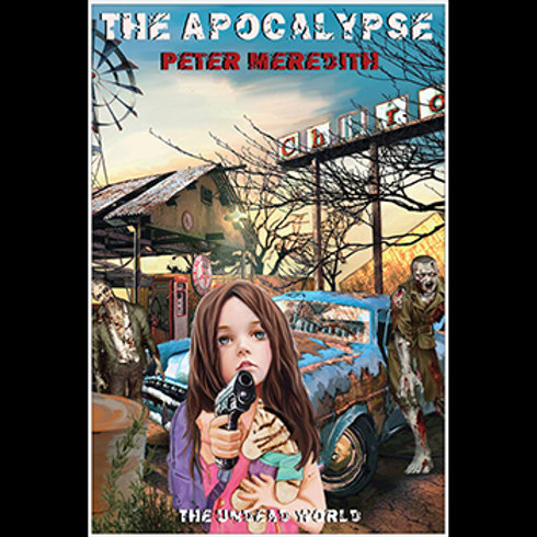 "Jillybean in The Apocalypse Poster, Autographed: 24"" x 36"""