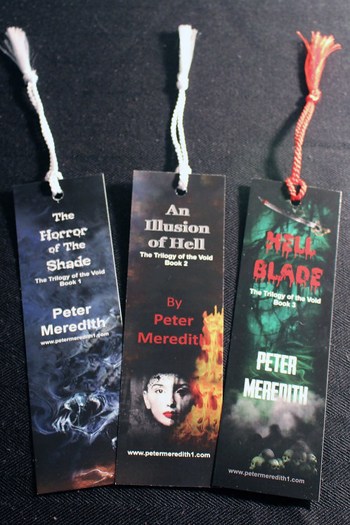 Horror of The Shade Bookmarks: Set of 3