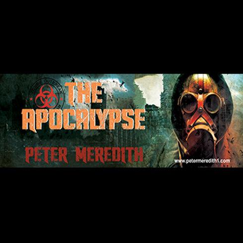"""The Apocalypse Book 1 Bumper Sticker: 10"""" x 3"""""""