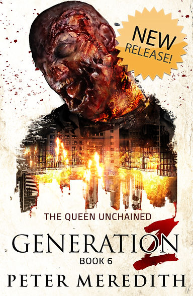 Generation Z, Book 6 Front Cover-New Rel