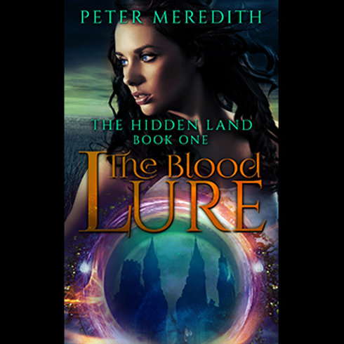 Autographed-The Blood Lure, The Hidden Land Book 1