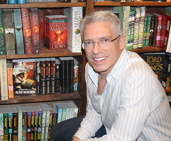 Author Peter Meredith