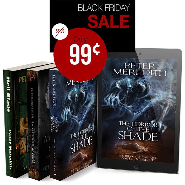 BLACK FRIDAY SALE STARTS NOW!             Trilogy of The Void (Complete Boxed Set Series)