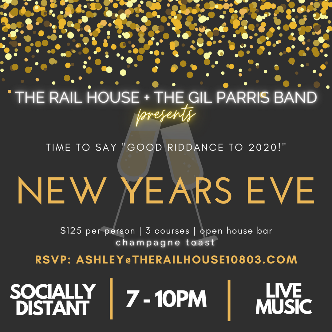 New Years Eve with Gil Parris!