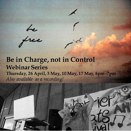 Be in Charge, not in Control - weekly