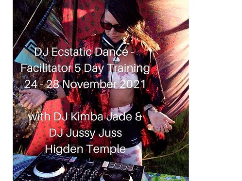 DJ Ecstatic Dance - Facilitator 5 Day Training - Deposit