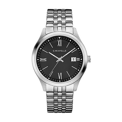 Caravelle Women's Quartz Watch with Stainless-Steel Strap 43M115