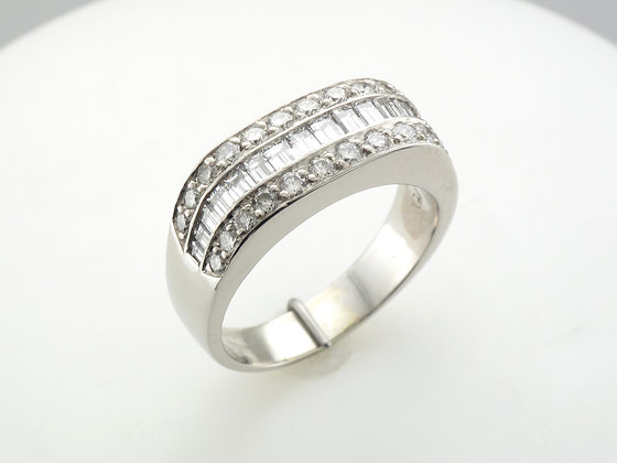 1.50ctw Diamond Fashion Ring, Platinum