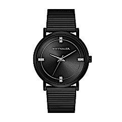 Wittnauer Men's Black Tie Bracelet Watch WN3106
