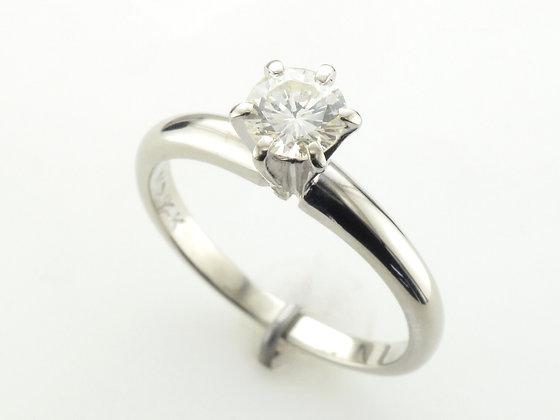 0.45ct Diamond Solitaire Ring, 14 Karat White Gold
