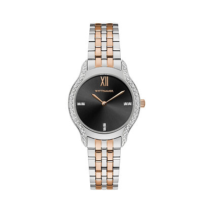 Wittnauer Women's Black Tie Bracelet Watch WN4118