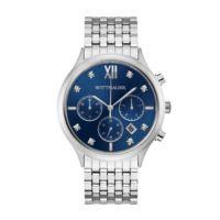 Wittnauer Men's Black Tie Chronograph Watch WN3104