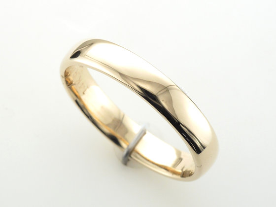 14k Yellow Gold, 4.2mm Band