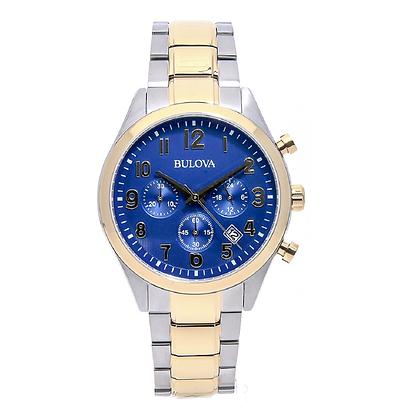 Bulova Men's Chronograph Watch 98B346