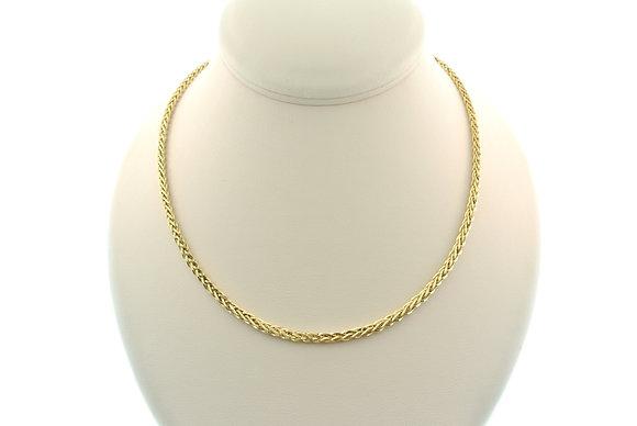 "20"" Byzantine Chain, 14k Yellow Gold"