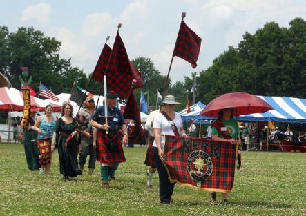 Clan Kerr parade of tartan.JPG