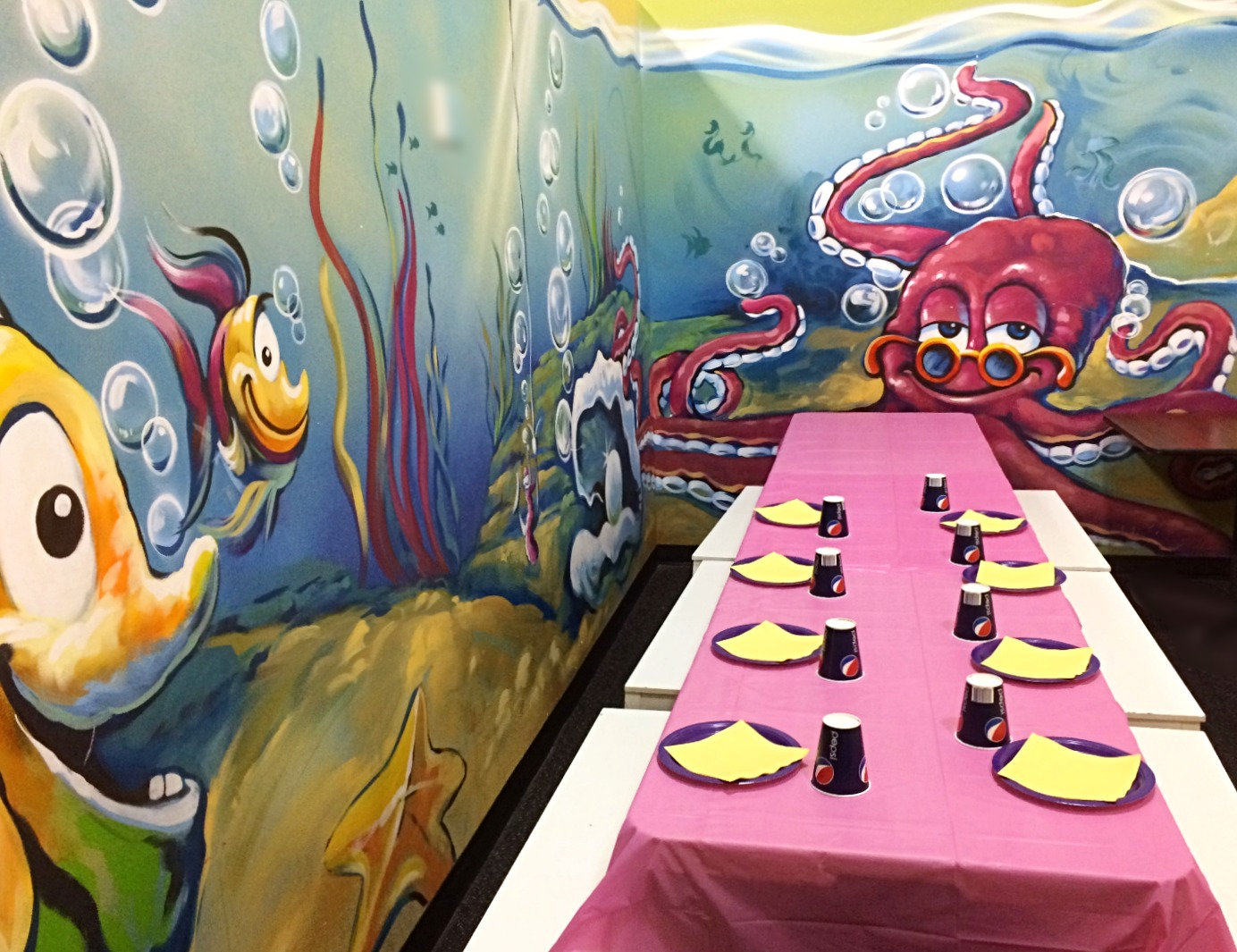 Party Time in the Ocean Room