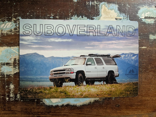 Mountain Vinyl Sticker