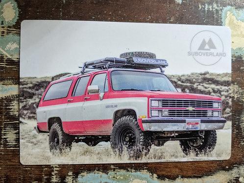 """1983 """"BIG RED"""" Vinyl Sticker"""