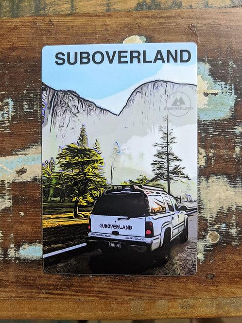Yosemite Vinyl Sticker