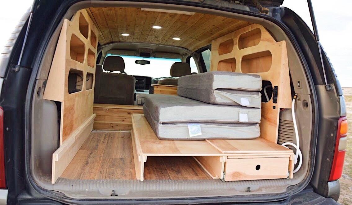 Suburban conversion camper, 4x4 conversion camper, compact off-road