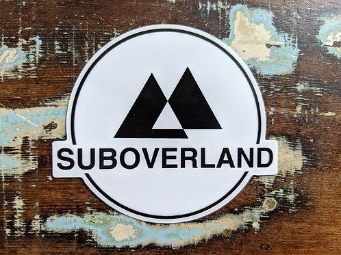 SUBOVERLAND Logo Vinyl Sticker
