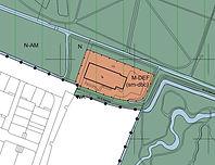 Kaart detail  bij bestemmingsplan Landelijk gebied 2015 Gemeente Wassenaar