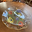 Thumbnail: Chance Glass Anemone painted plates