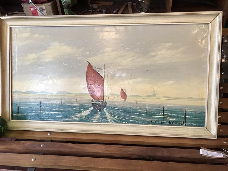 Ship painting - Dutch