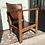 Thumbnail: Oak & Leather chair 1940/50s