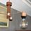 Thumbnail: Teak and copper 70s ceiling light