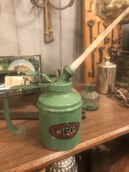 Wesco oil can