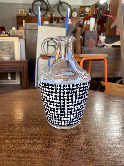 French Houndstooth Cocktail Jug