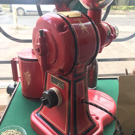 Vintage Hobart Coffee Grinder - being restored