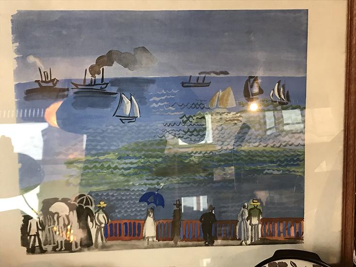 Raoul Dufy -La mer au Havre